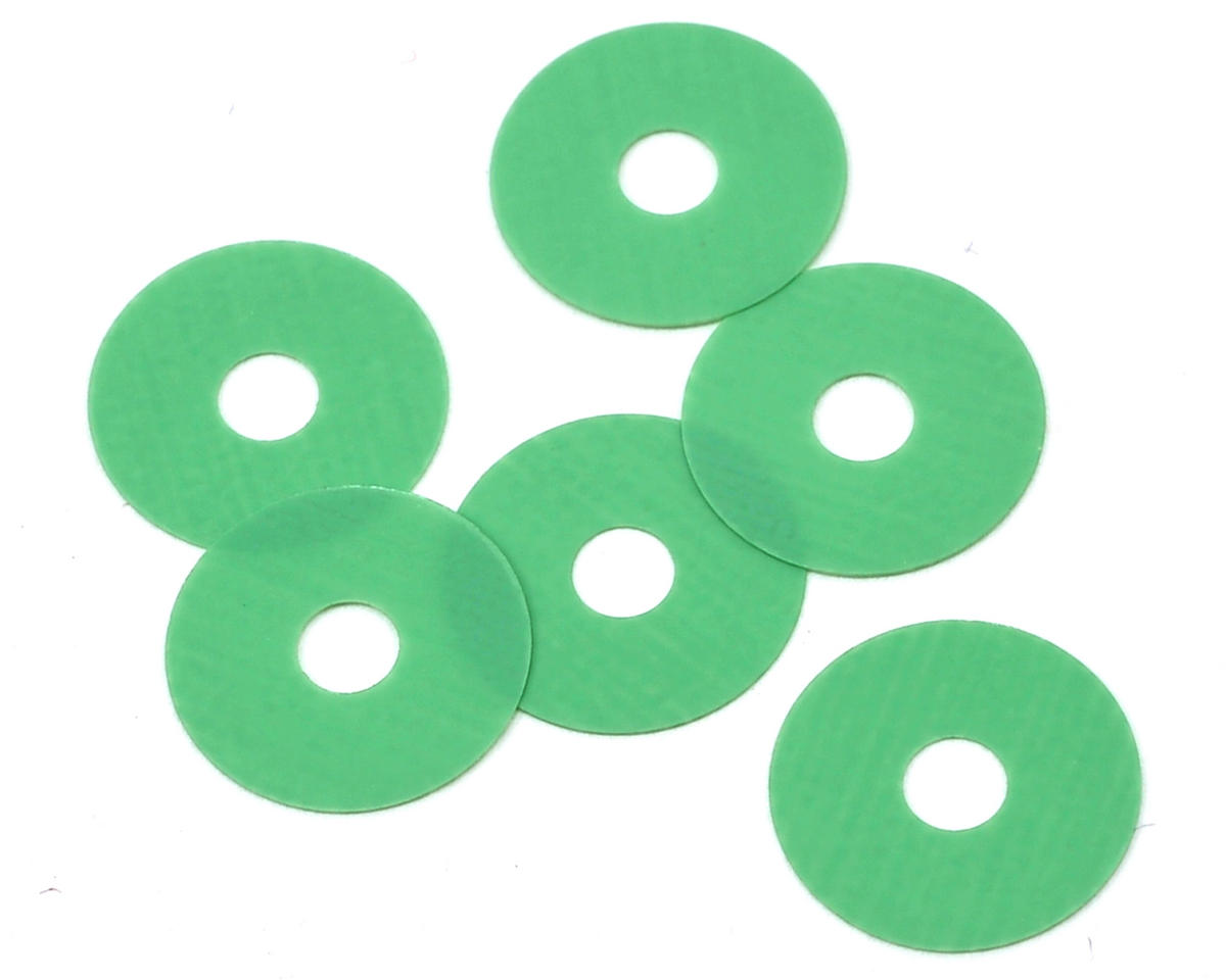 .003 Bypass1 #13 Valve Set (Green) (6) (Losi 22) by MIP