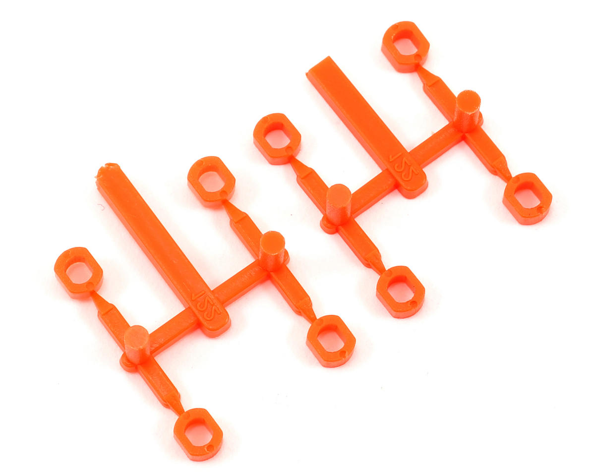 "MIP No.1 ""Pucks"" (Orange) (8) (Team Associated SC10.2)"