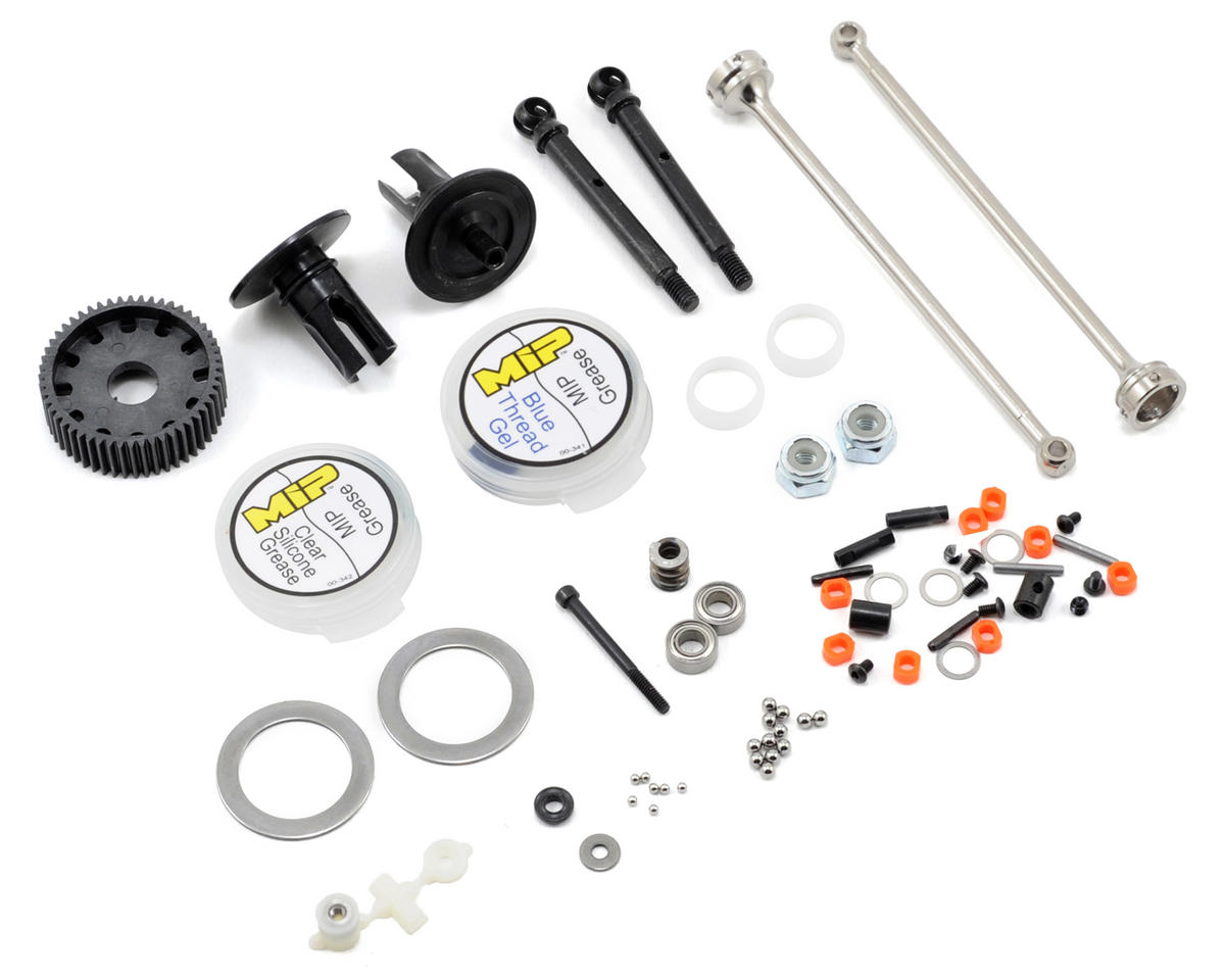 "MIP ""Pucks"" Shiny TLR 22T Drive System"