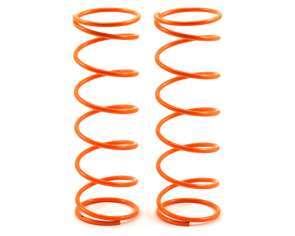 MIP 32mm Big Bore Rear Shock Springs (Orange - 12.0 lb) (2) (Losi 5IVE-T)