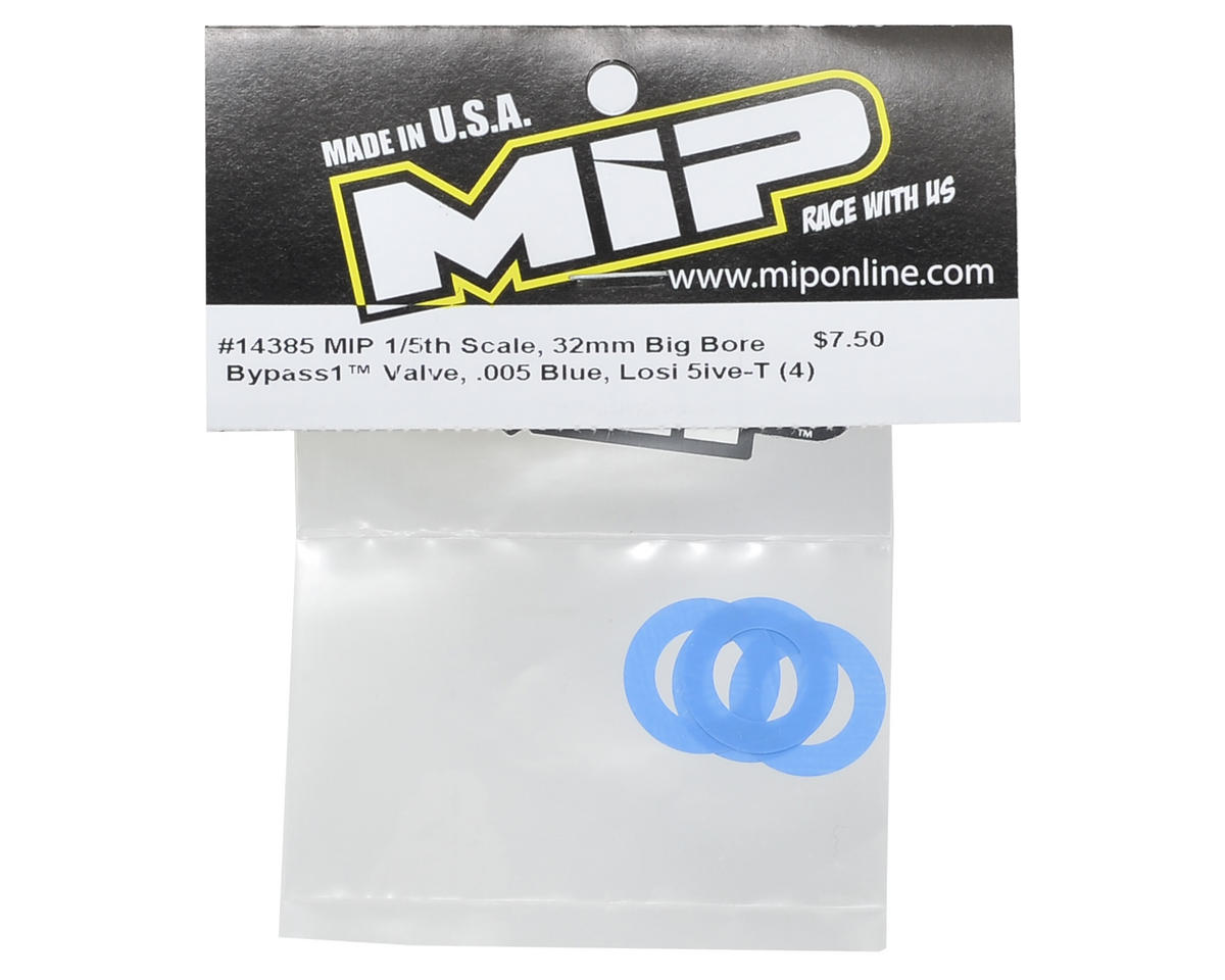 .005 32mm Big Bore Bypass1 Valve (Blue) (4) by MIP
