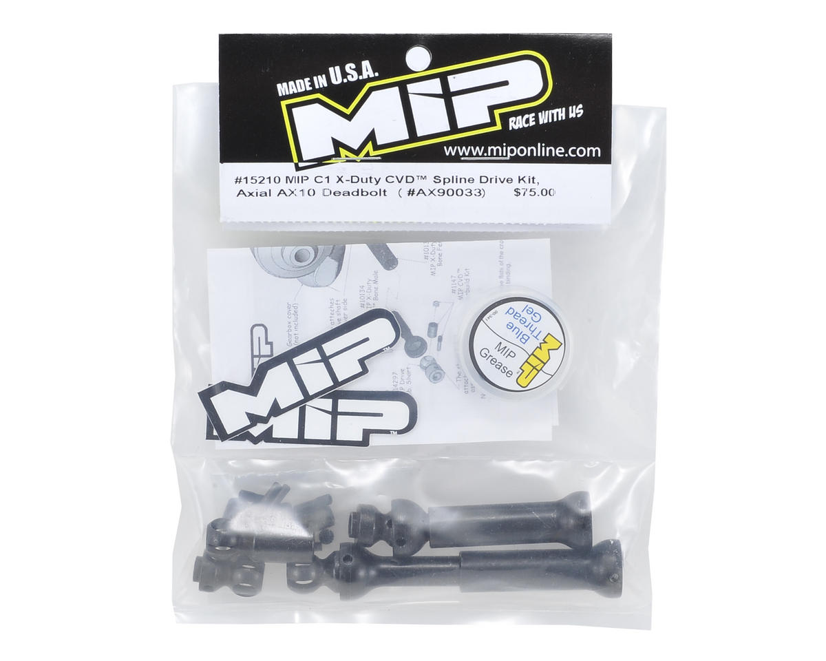MIP Axial C1 X-Duty CVD Kit (AX10 Deadbolt)