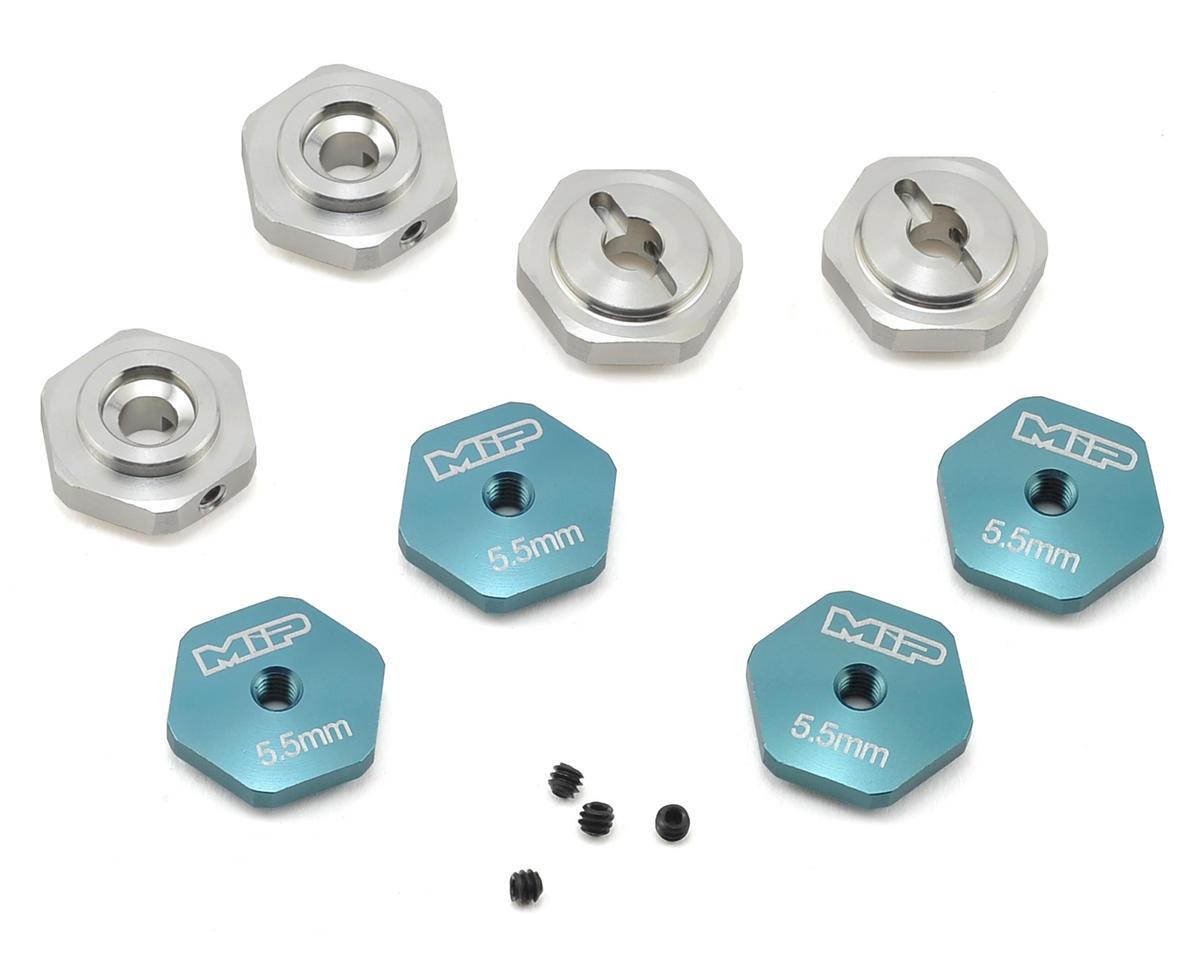 SCTE 17mm Aluminum Hex Adapter Set (4) (Standard) by MIP