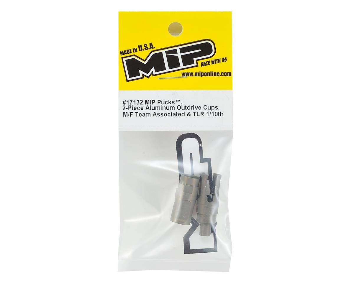 "MIP 1/10 Aluminum ""Pucks"" Bi-Metal Outdrive Cups (2)"