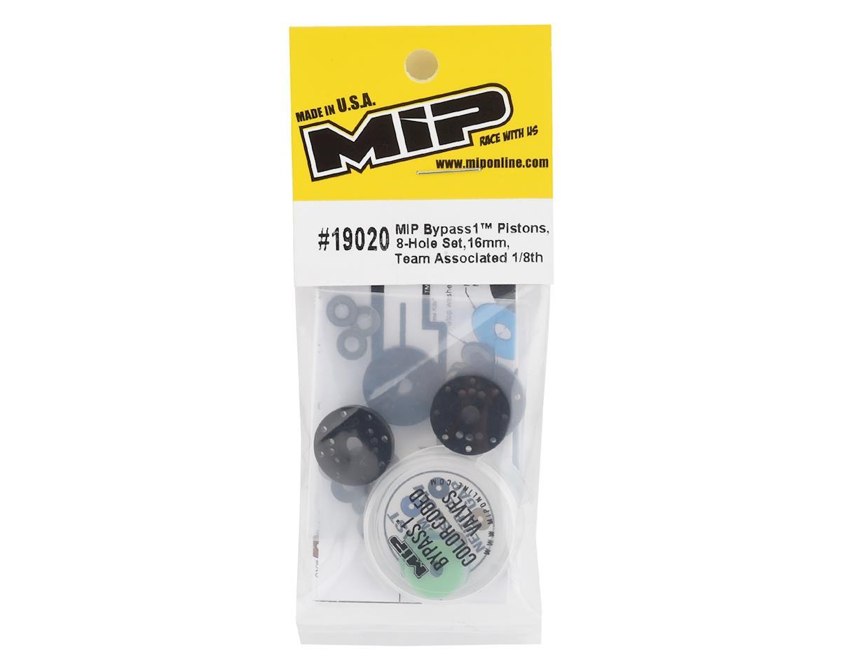 MIP Associated 16mm 8 Hole Bypass1 Piston Set (4)