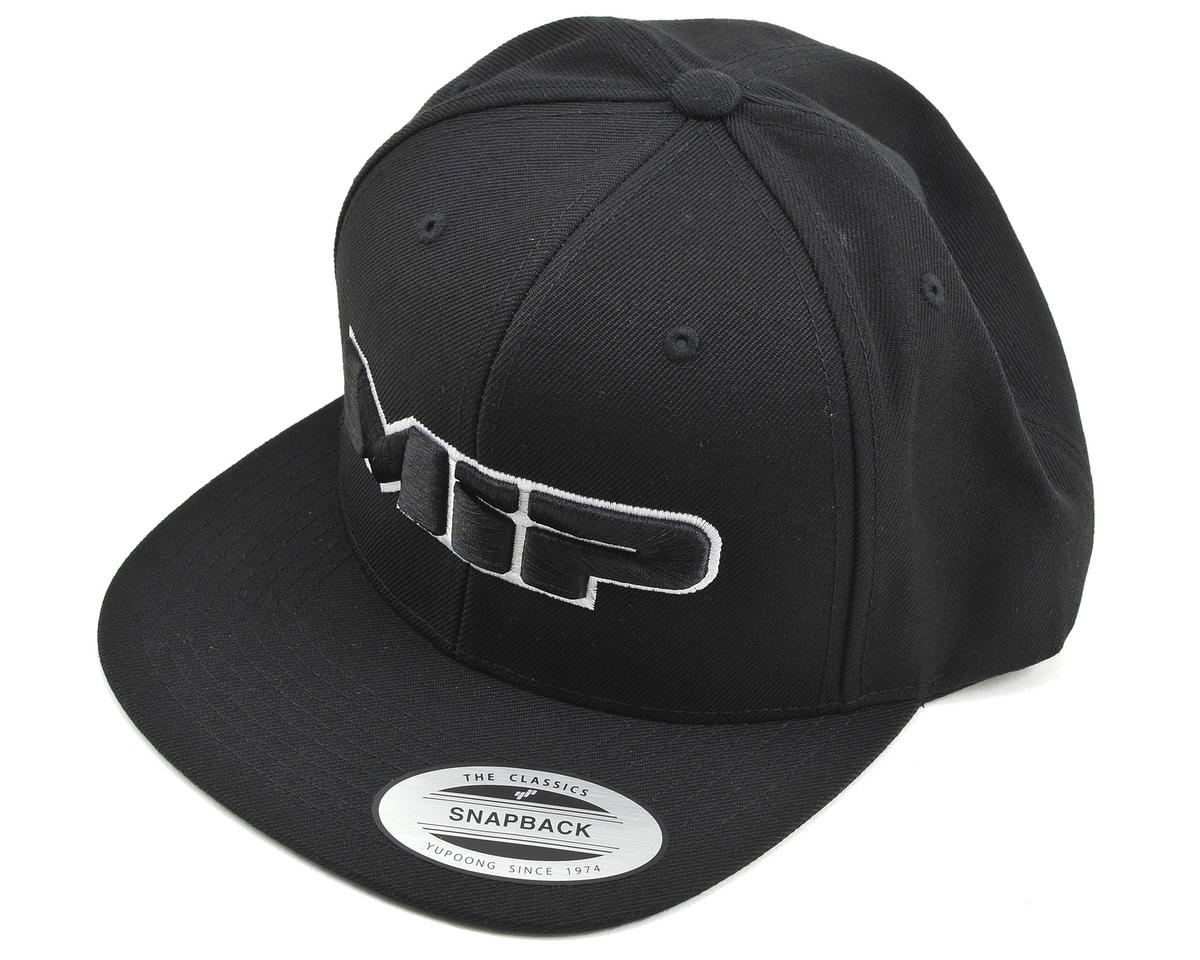 MIP Snapback Flatbill Hat (Black) (One size fits most)