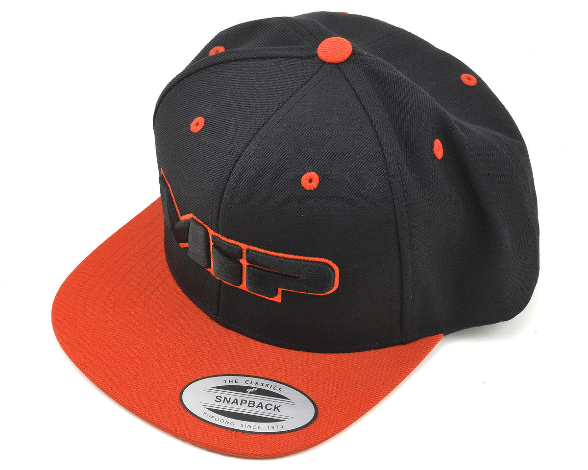 MIP Snapback Flatbill Hat (Orange)
