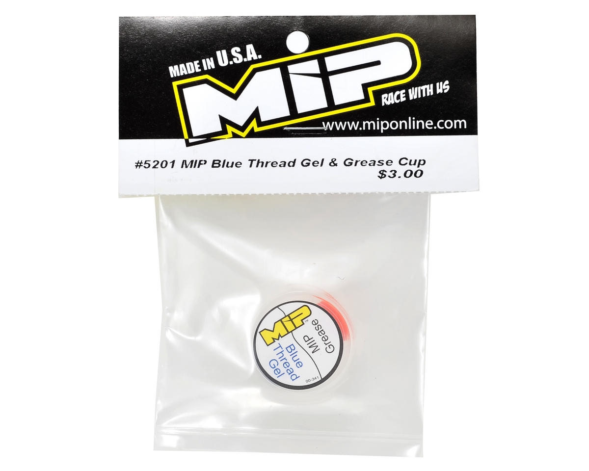 MIP Blue Thread Gel & Grease Cup