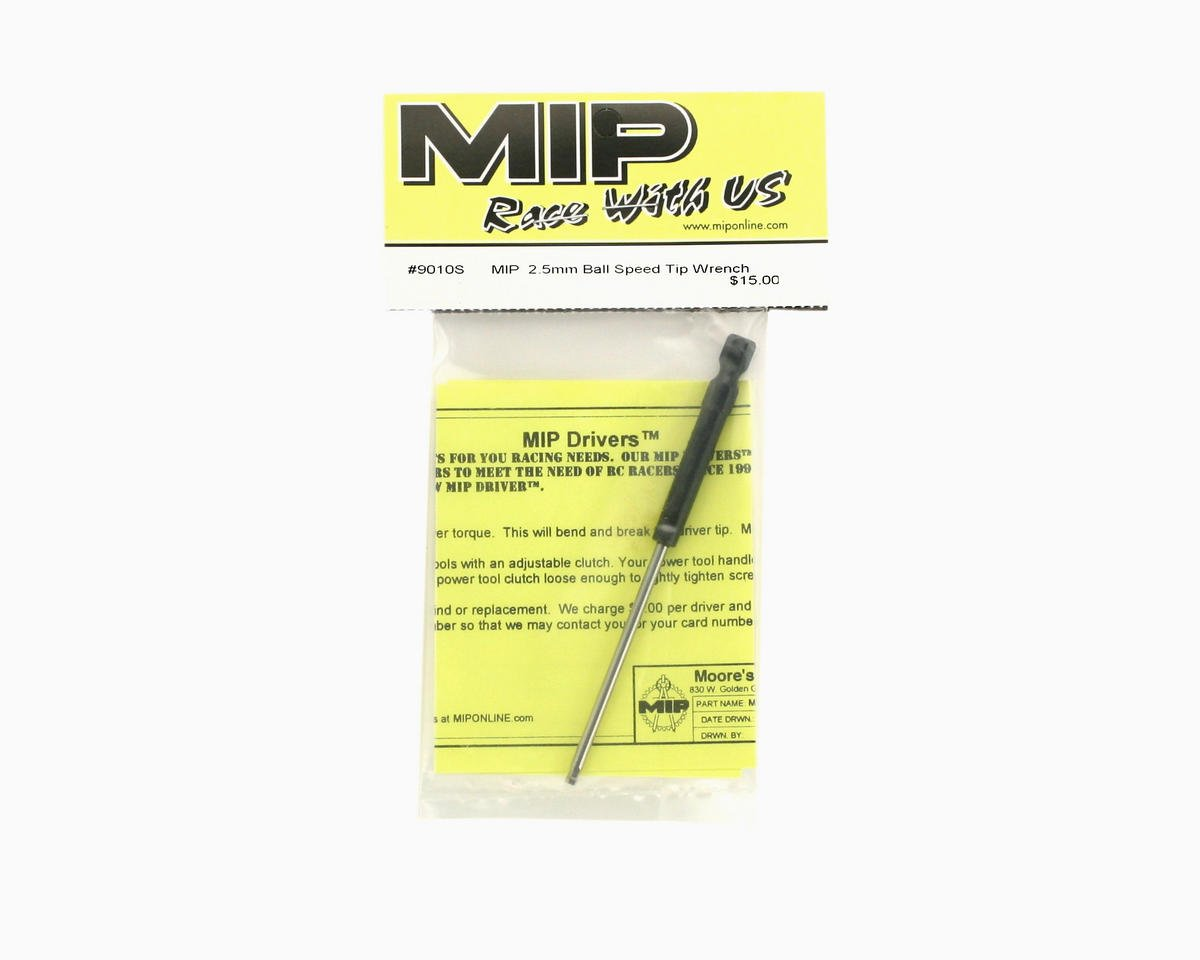 MIP Speed Tip Ball End Hex Wrench (2.5mm)