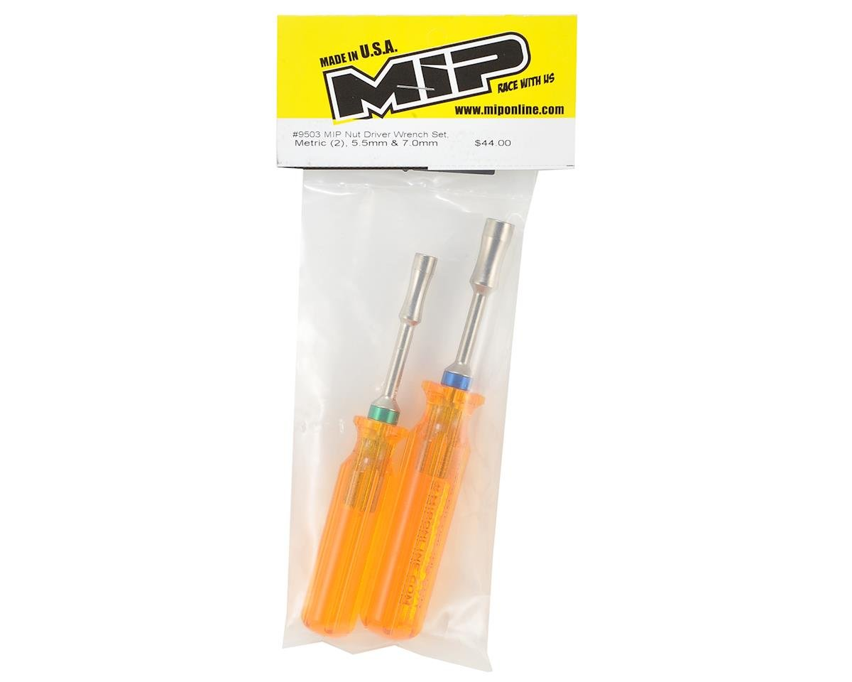 MIP Metric Nut Driver Wrench Set (2) (5.5 & 7.0mm)