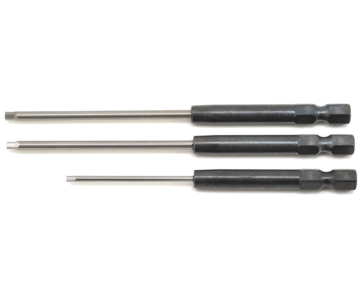 "Speed Tip Hex Driver Power Tool Tip Set (Standard) (3) (1/16, 5/64 & 3/32"") by MIP"