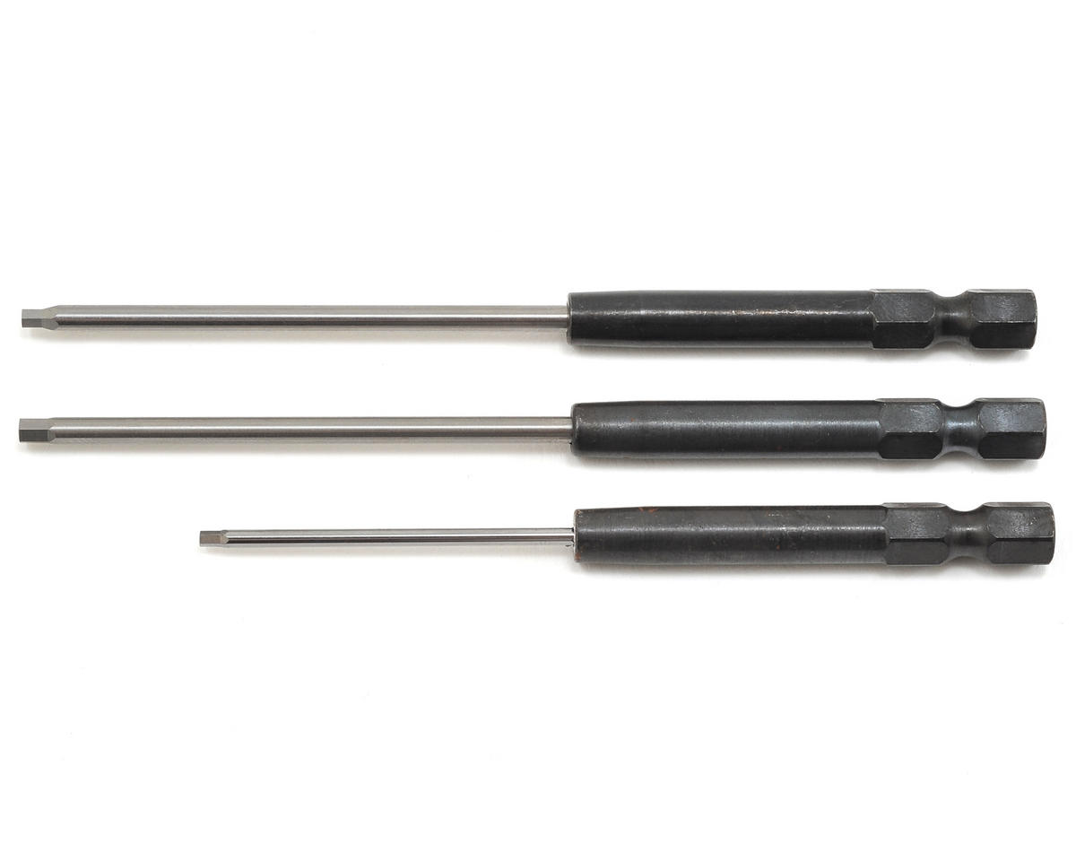 MIP Speed Tip Hex Driver Power Tool Tip Set (Metric) (3) (1.5, 2.0 & 2.5mm)