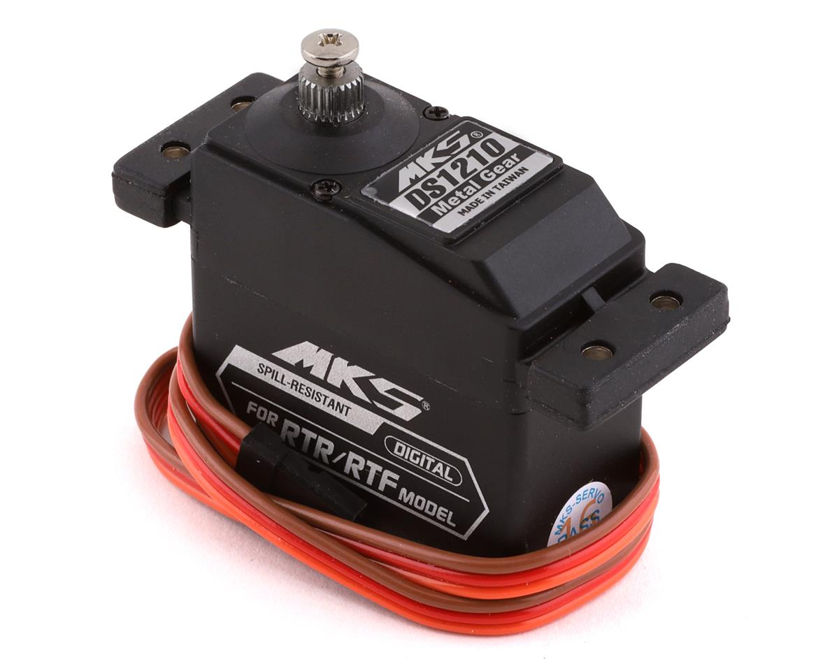 DS1210 Titanium Gear Standard Digital Servo by MKS