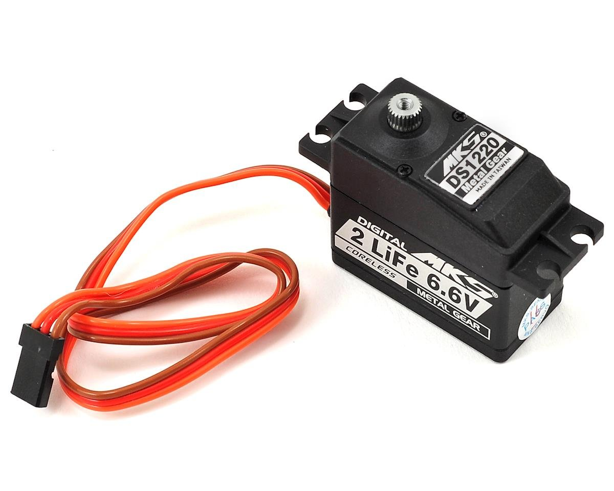 MKS DS1220 Titanium Gear Ultra High Torque Standard Digital Servo