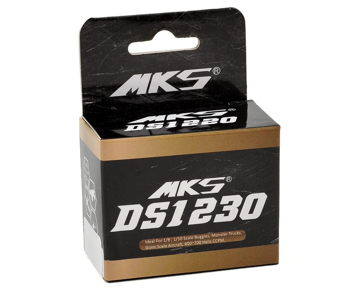 MKS DS1230 Titanium Gear High Torque Standard Digital Servo