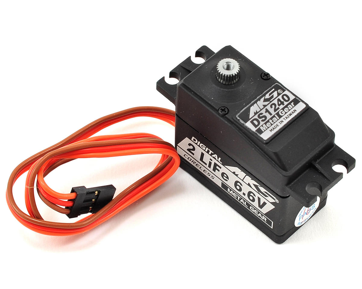 DS1240 Titanium Gear High Speed Standard Digital Servo