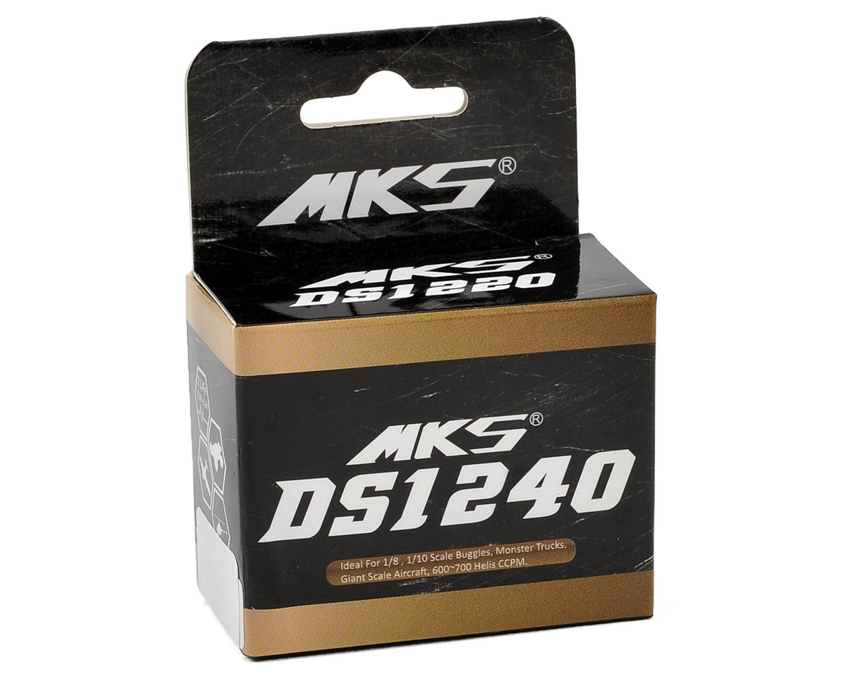 MKS DS1240 Titanium Gear High Speed Standard Digital Servo
