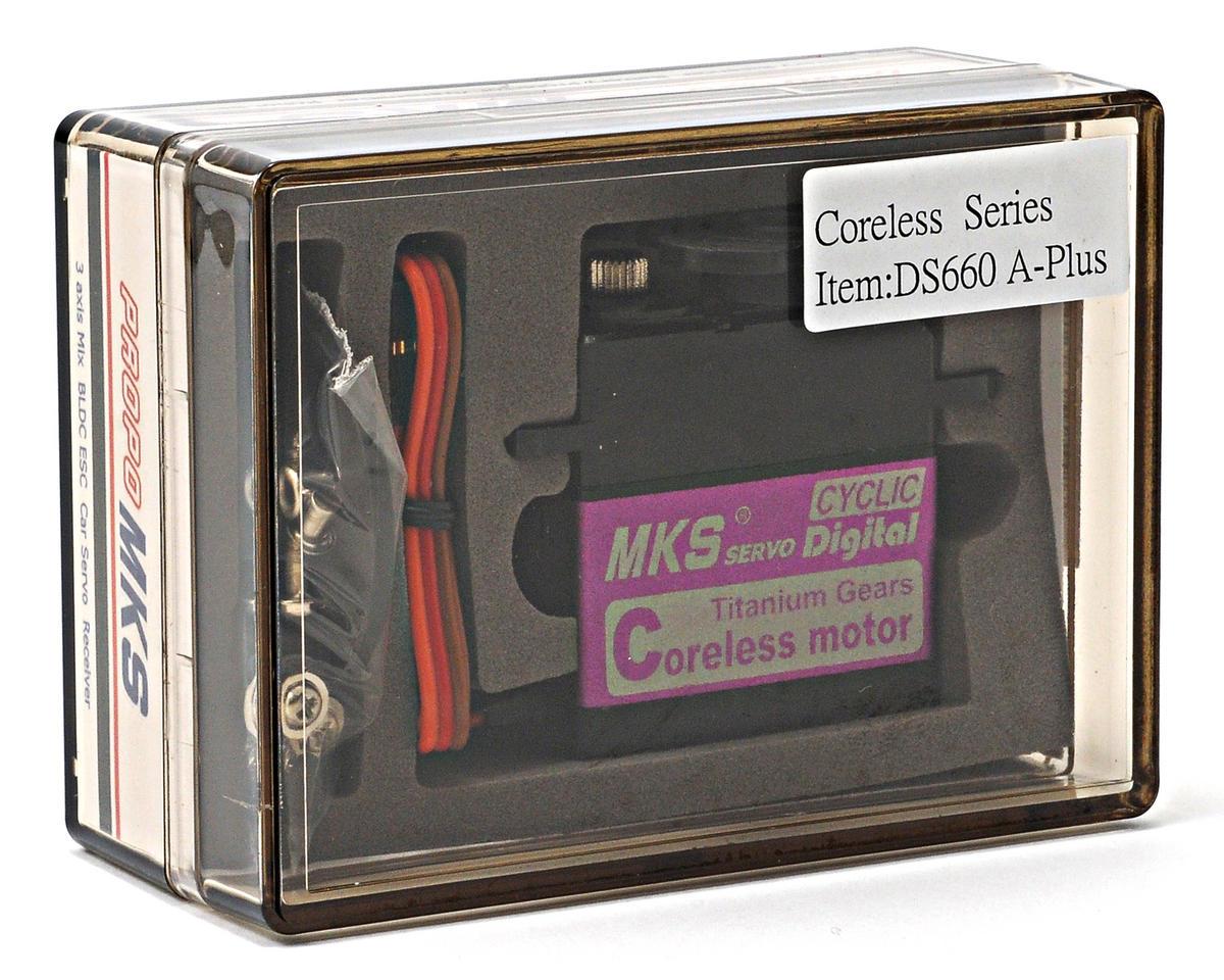 MKS DS660A+ Titanium Gear High Torque Standard Digital Servo w/Aluminum Case