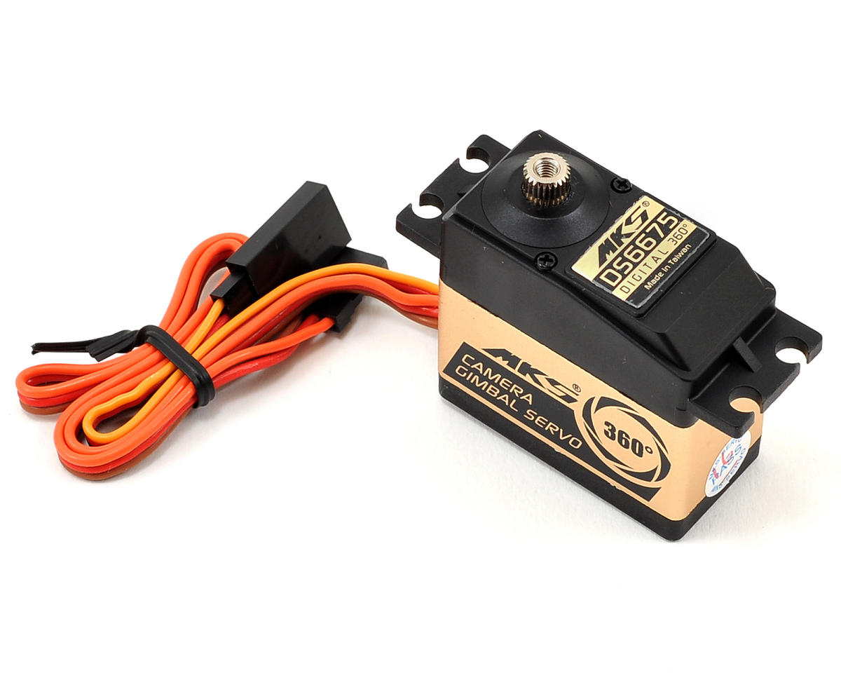 MKS DS6675 Metal Gear Continuous Rotation Digital Gimbal Servo [MKS-DS6675]    Drones