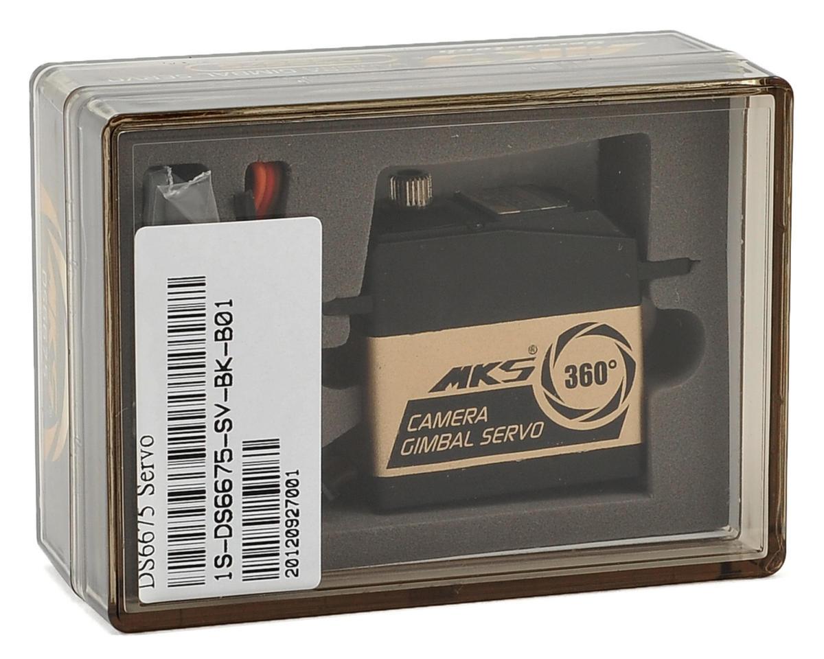 MKS DS6675 Metal Gear Continuous Rotation Digital Gimbal Servo