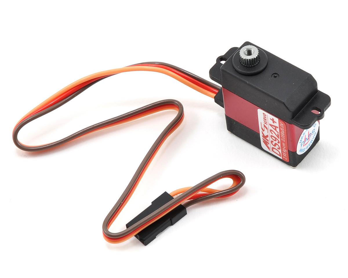 MKS DS92A+ Ti-Gear High Speed Micro Flybarless Helicopter Coreless Cyclic Servo (SAB Goblin 380)