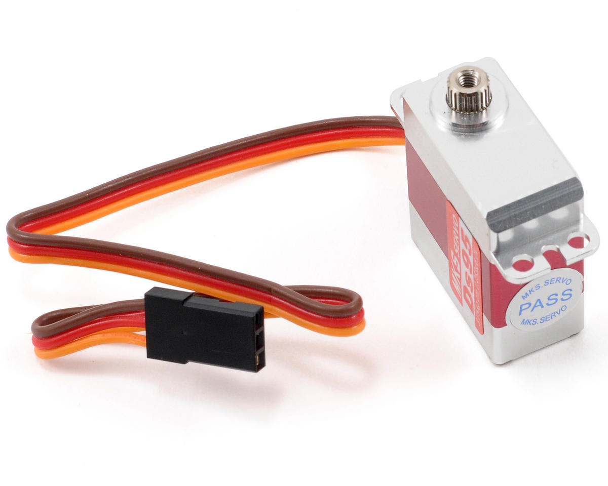 MKS DS95 Titanium Gear High Torque Micro Digital Helicopter Cyclic Servo (SAB Goblin 380)