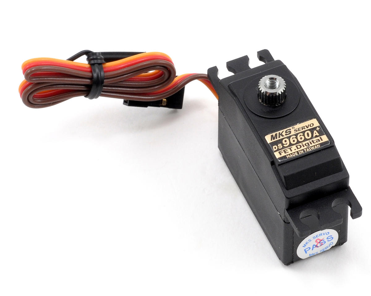 MKS Servos DS-9660A+ Digital High Torque Metal Gear Mini Servo