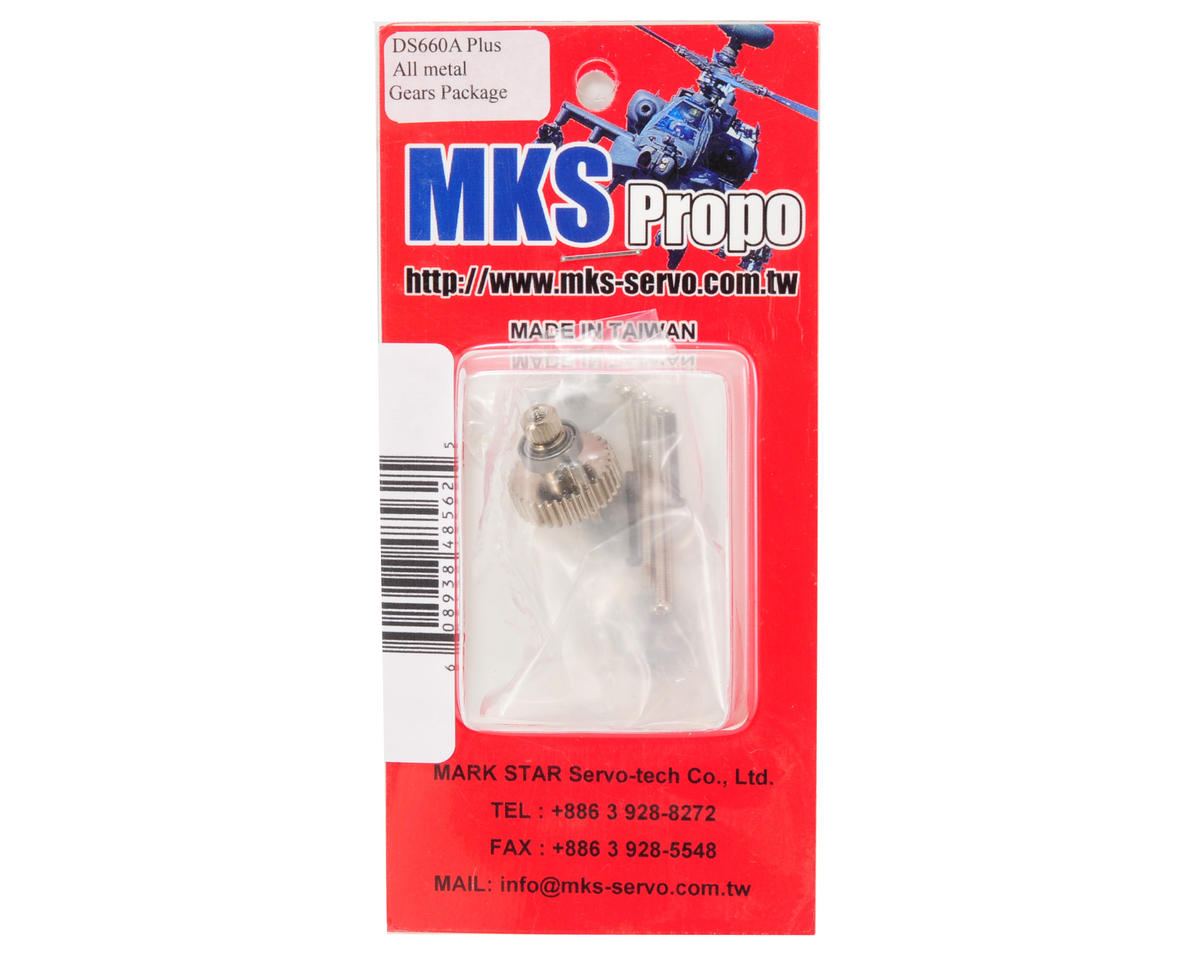 MKS DS660A+ Metal Gear set