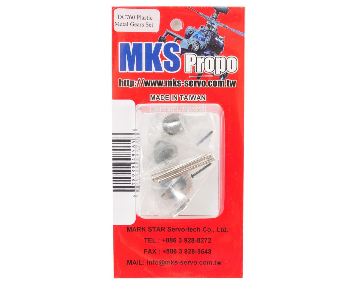 MKS DS760P Metal Gear Set