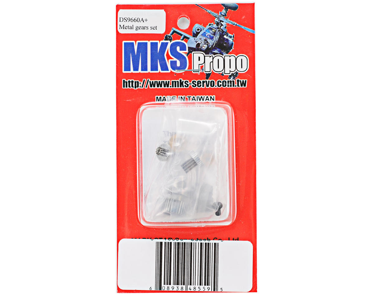 MKS Servos DS9660A+ Metal Gear Set