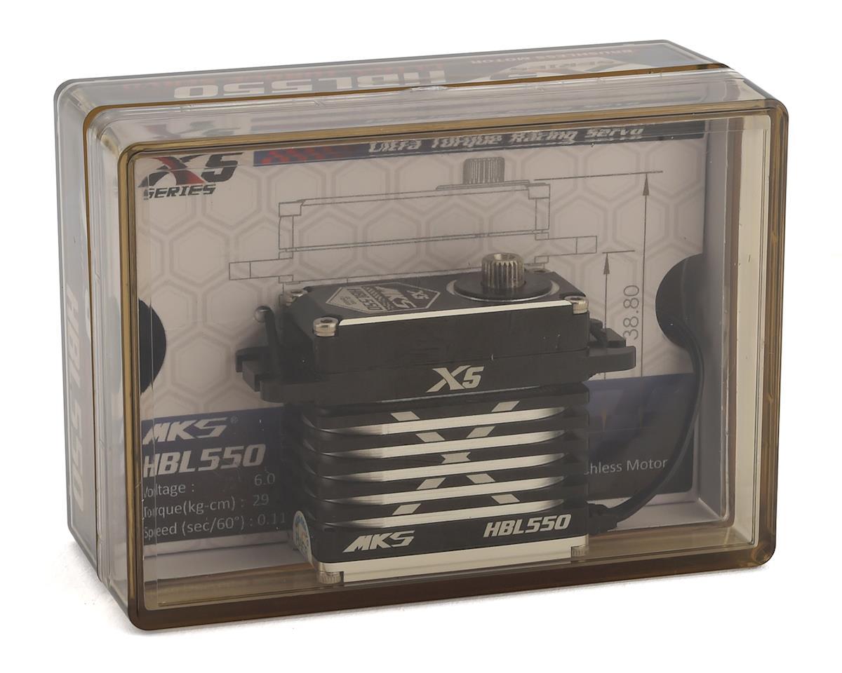 MKS Servos X5 HBL550 Brushless Titanium Gear High Torque Digital Servo (High Voltage)