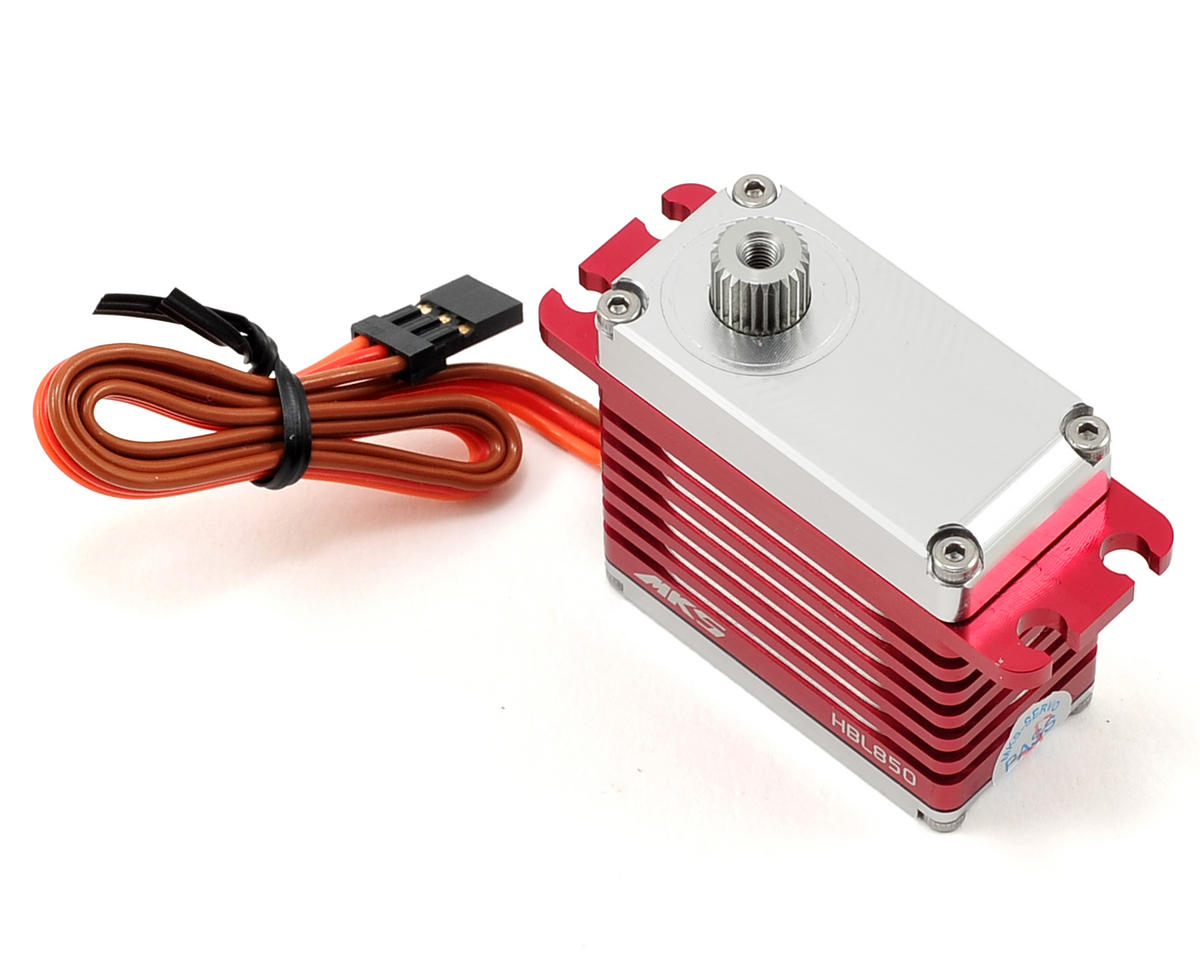 MKS HBL850 Brushless Ti-Gear High Speed Digital Cyclic Servo (High Voltage)