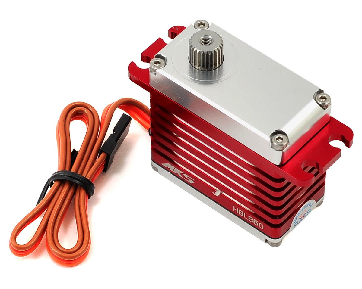 MKS HBL860 Brushless Titanium Gear High Torque Digital Servo (High Voltage)