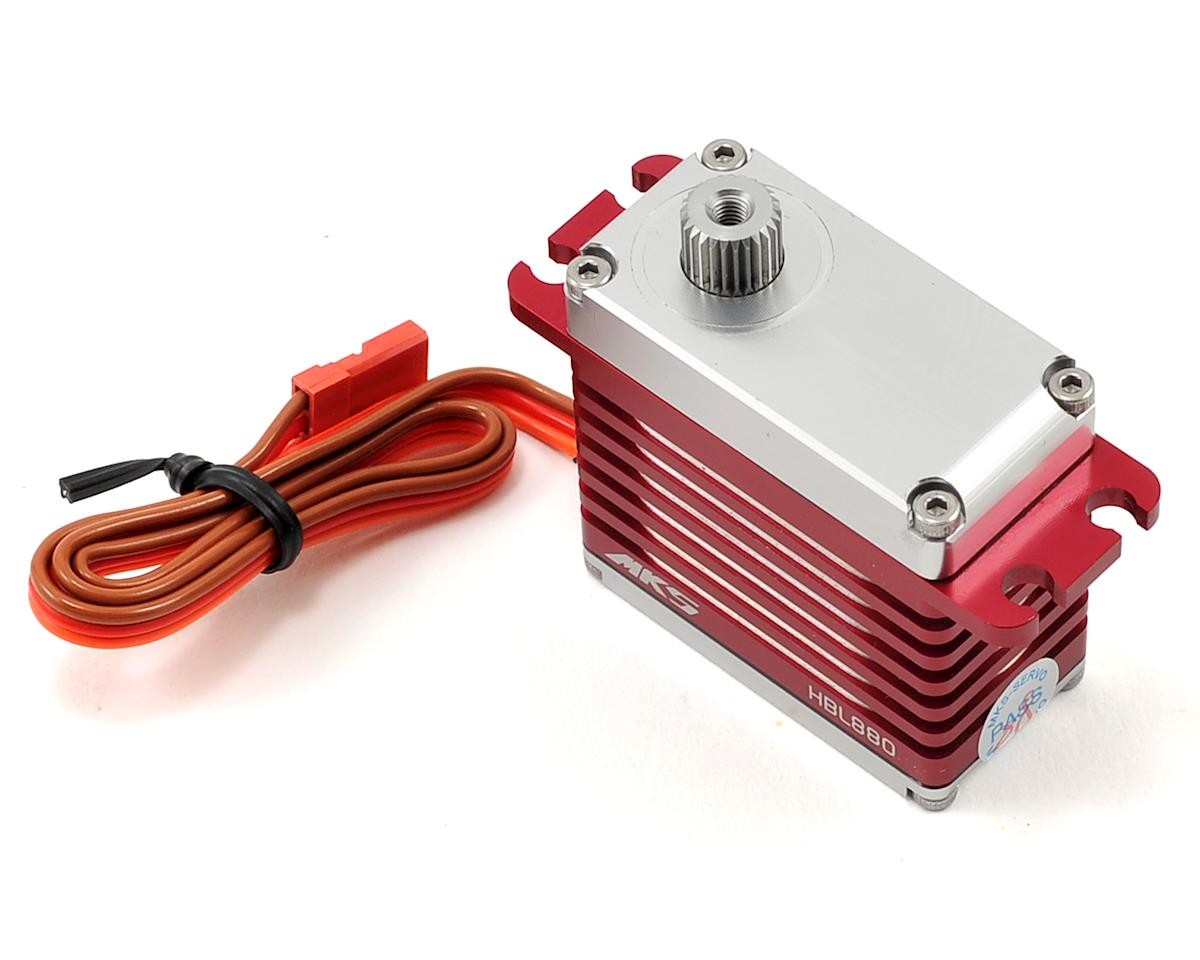 HBL880 Brushless Titanium Gear High Torque Digital Tail Servo (High Voltage) by MKS