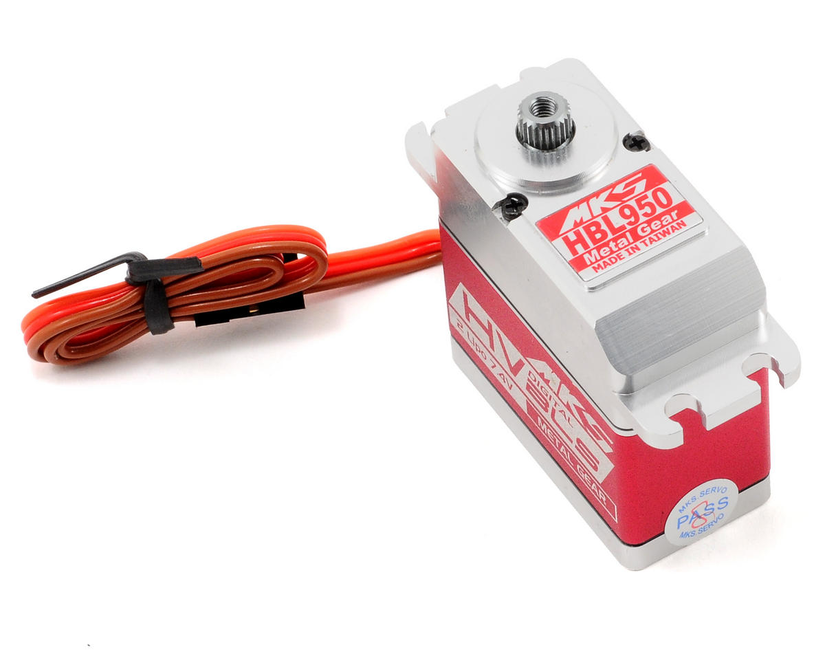 MKS Servos HBL950 Brushless Titanium Gear High Torque Digital Servo (High Voltage)