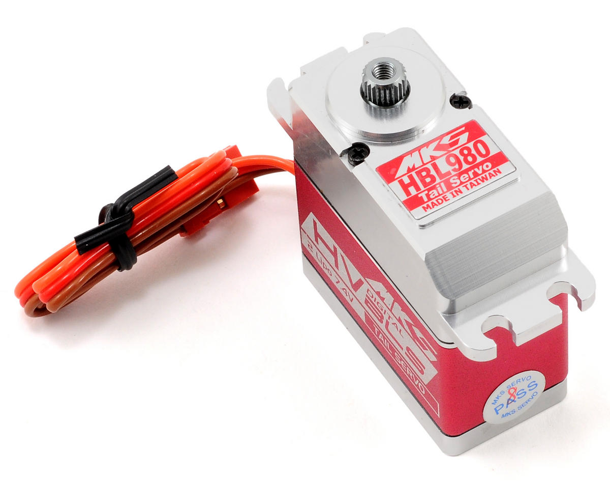 SCRATCH & DENT: MKS HBL980 Brushless Titanium Gear High Speed Digital Servo (High Voltage)