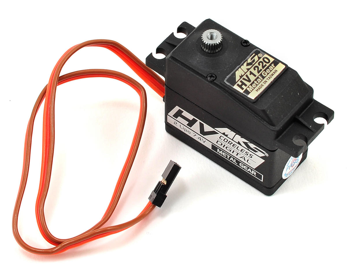 MKS HV1220 Titanium Gear Ultra High Torque Standard Digital Servo (High Voltage)