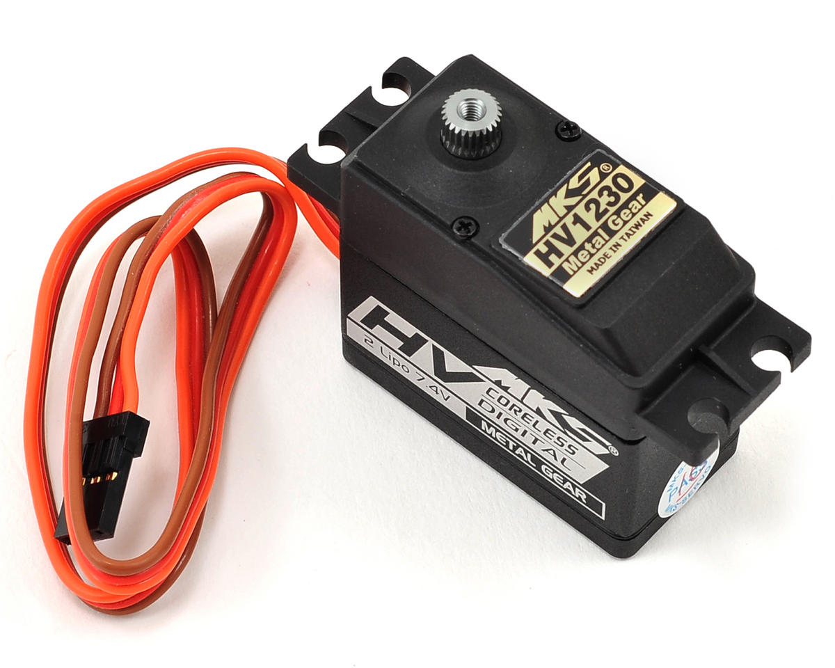MKS HV1230 Titanium Gear High Torque Standard Digital Servo (High Voltage)