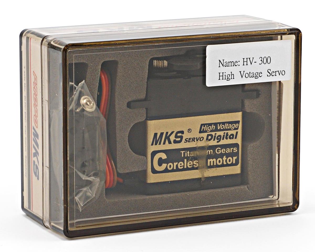 MKS HV-300 Titanium Gear High Torque Digital Servo w/Aluminum Case (High Voltage)