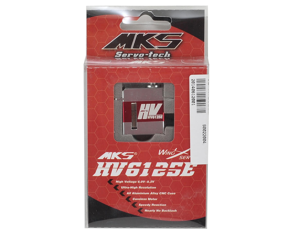 MKS HV6125E Titanium Gear Glider Wing Servo w/Aluminum Case (High Voltage)