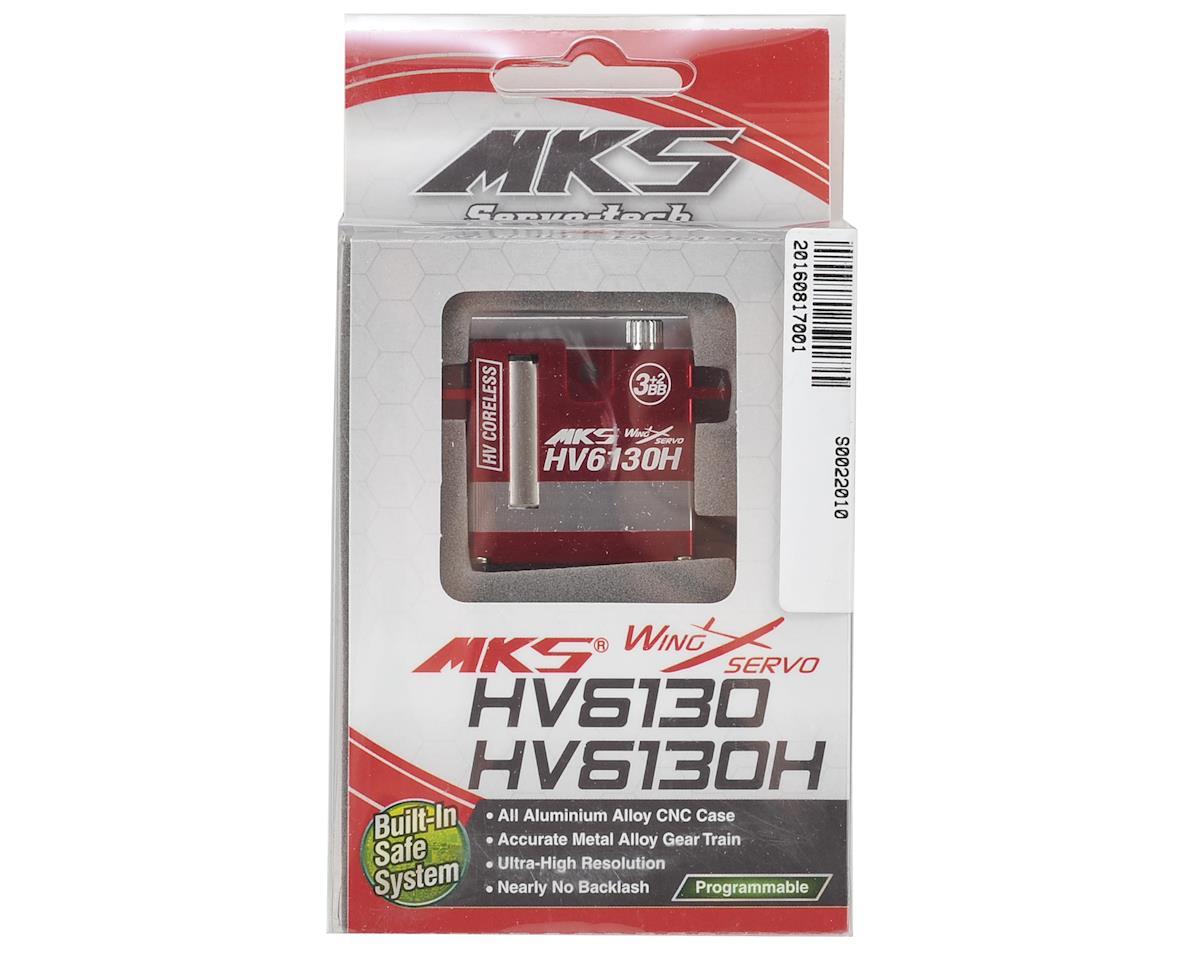MKS HV6130H Coreless Metal Gear Digital Wing Servo (High Voltage)