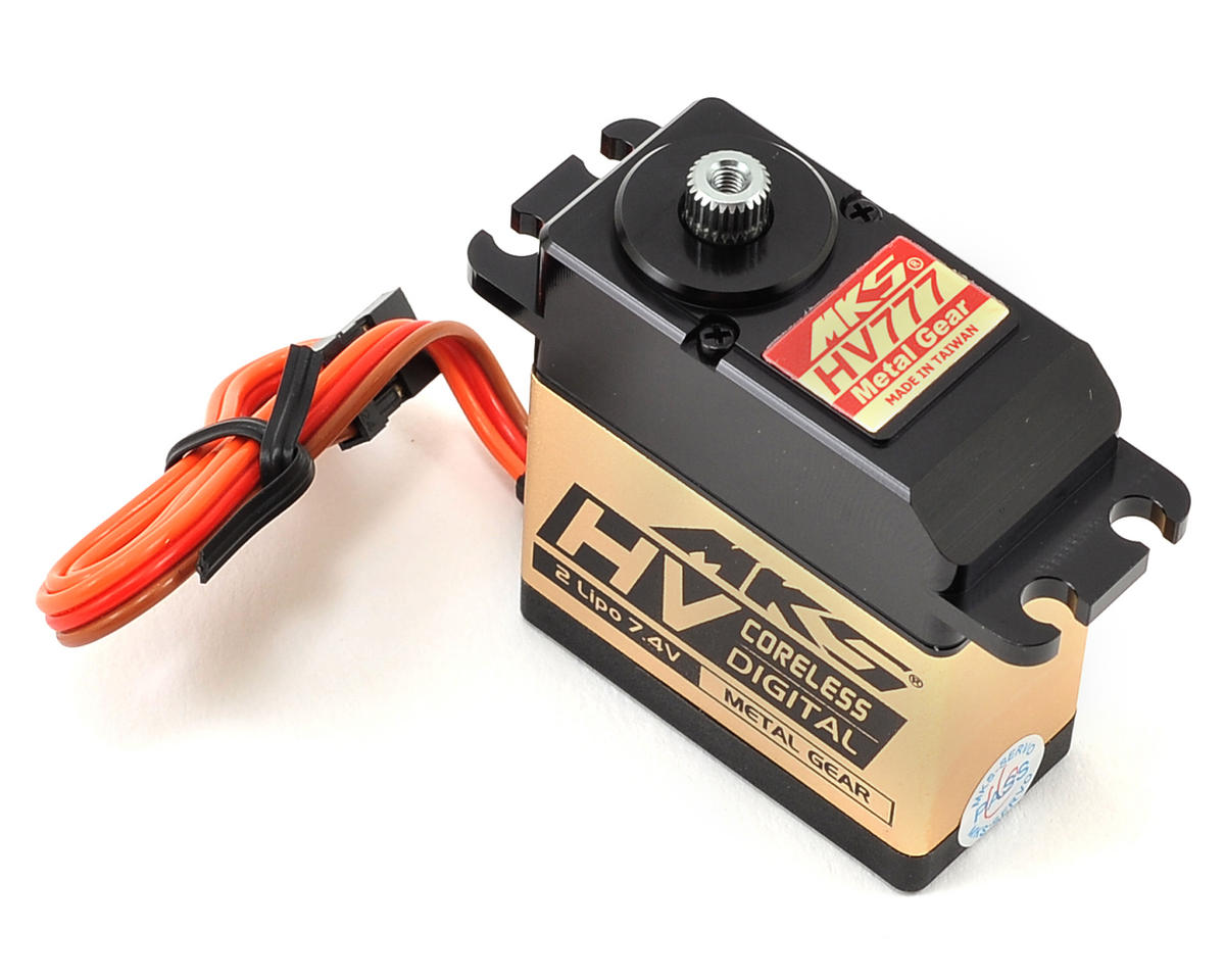MKS Servos HV777 Coreless Titanium Gear High Torque Digital Servo (High Voltage)