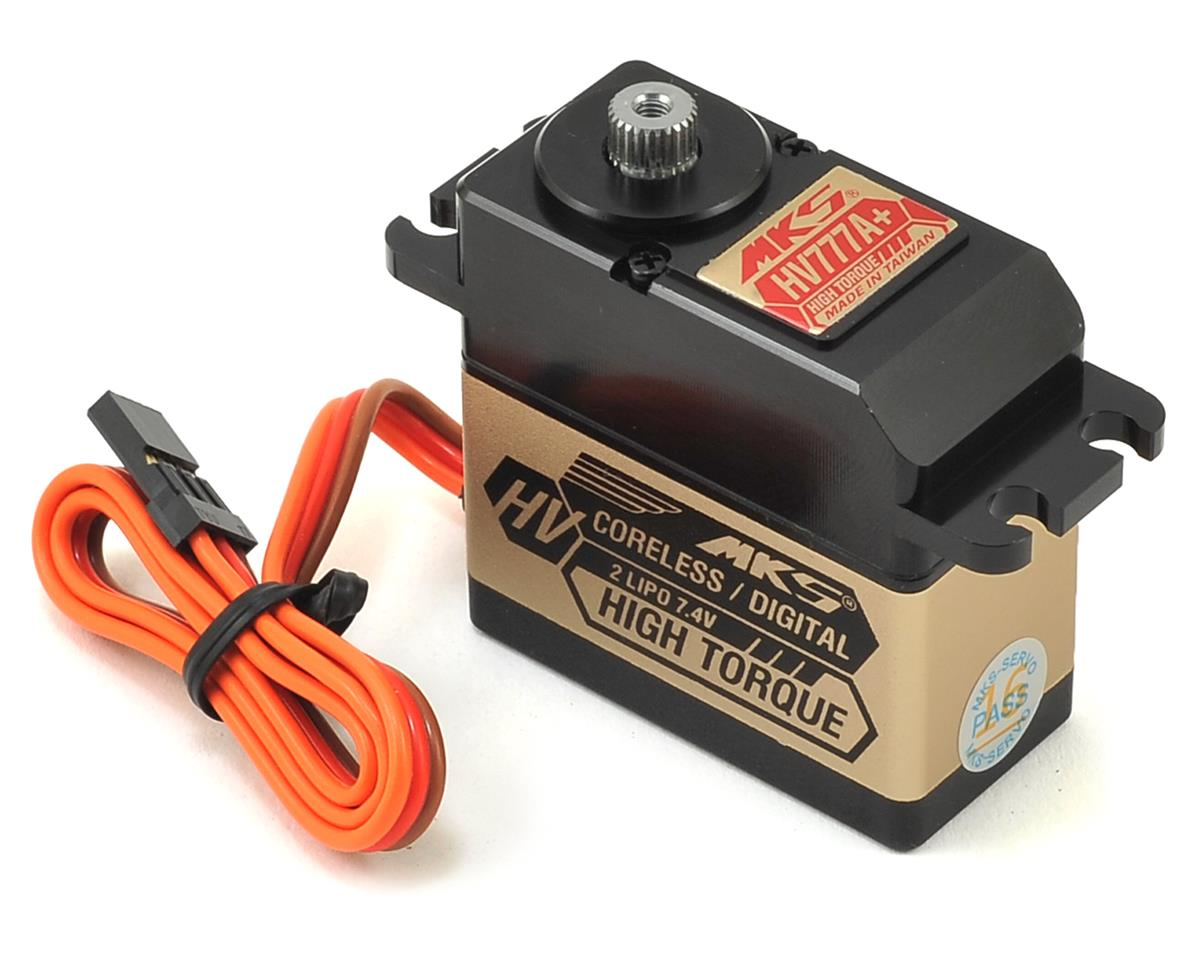 MKS Servos HV777A+ Coreless Titanium Gear High Torque Digital Servo (High Voltage)