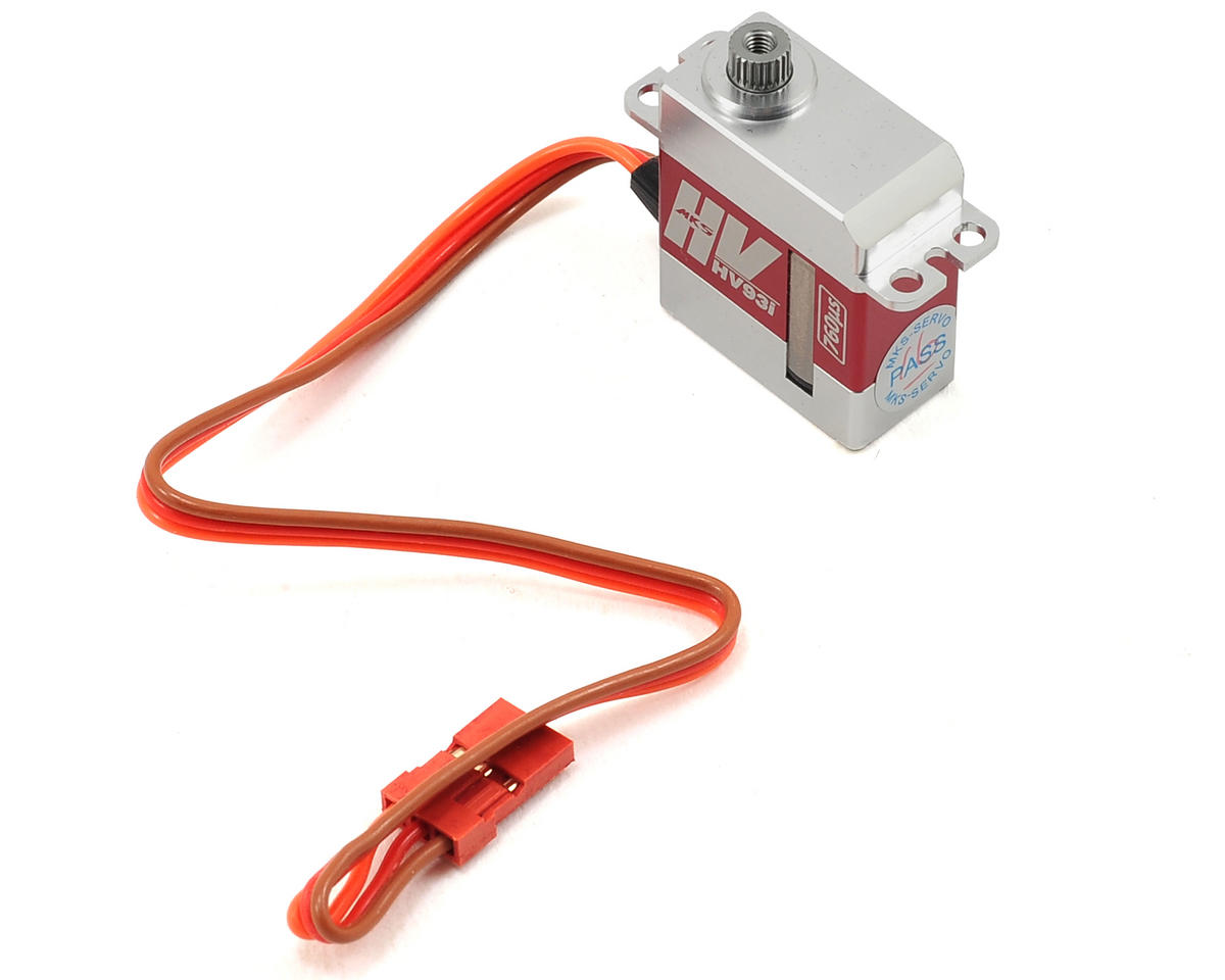 MKS Servos HV93I Micro Metal Gear Digital Servo (High Voltage) | alsopurchased