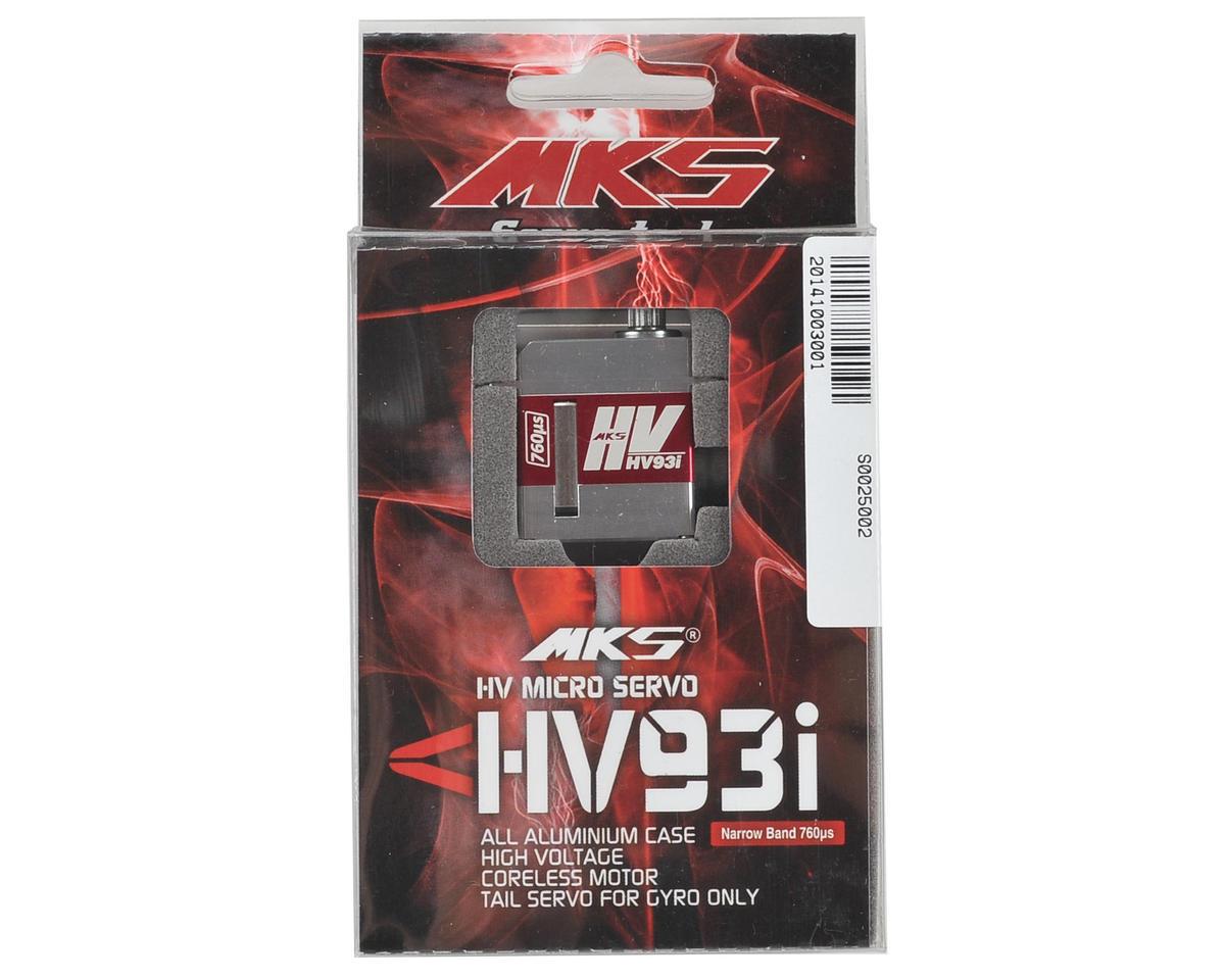 MKS HV93I Micro Metal Gear Digital Servo (High Voltage)