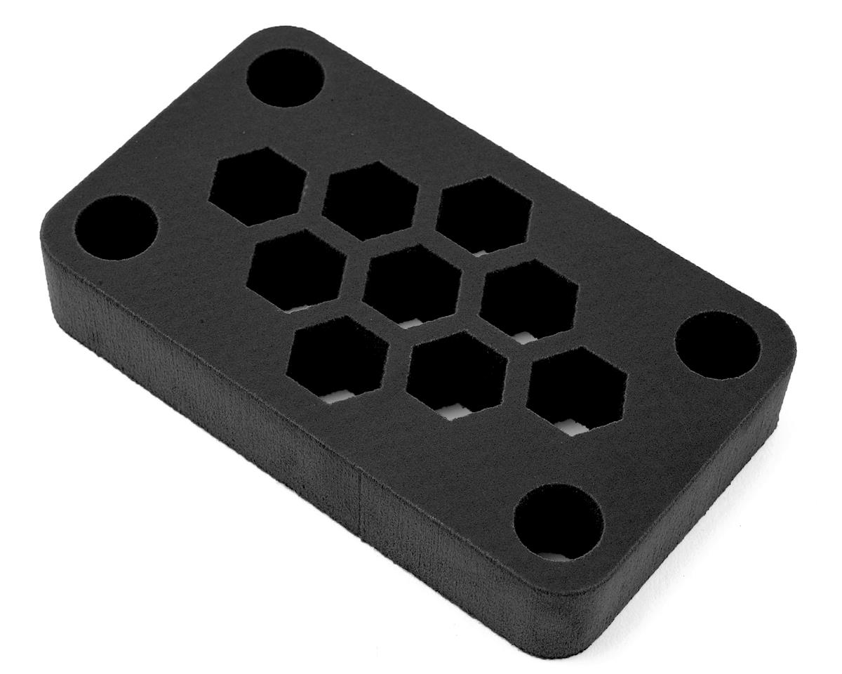 "Maxline R/C Products 6x3.5x 1"" Foam Car Stand (Black) (1/10 TC & 1/12)"