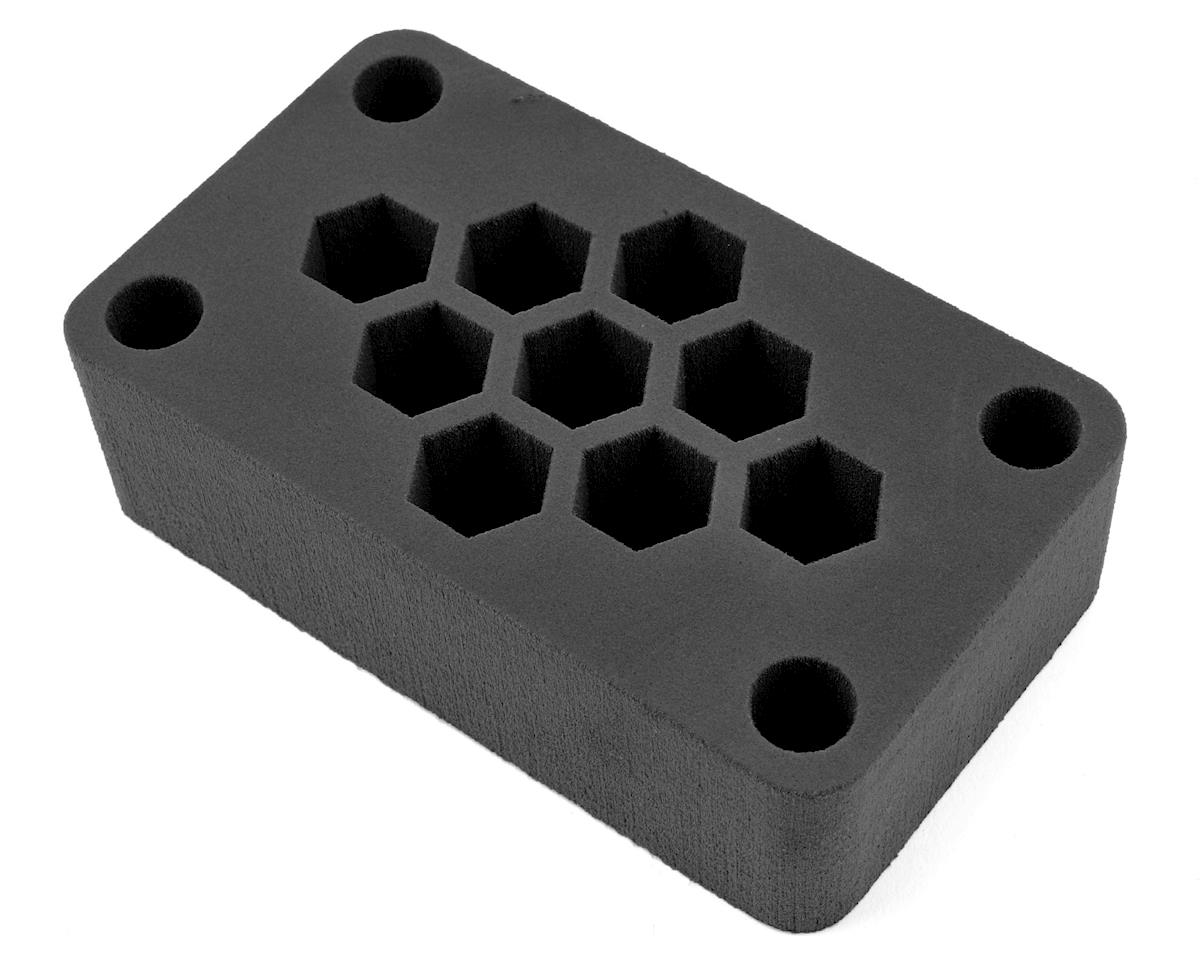 "7x4x2"" Foam Car Stand (Black) (1/10 Off Road) by Maxline R/C Products"