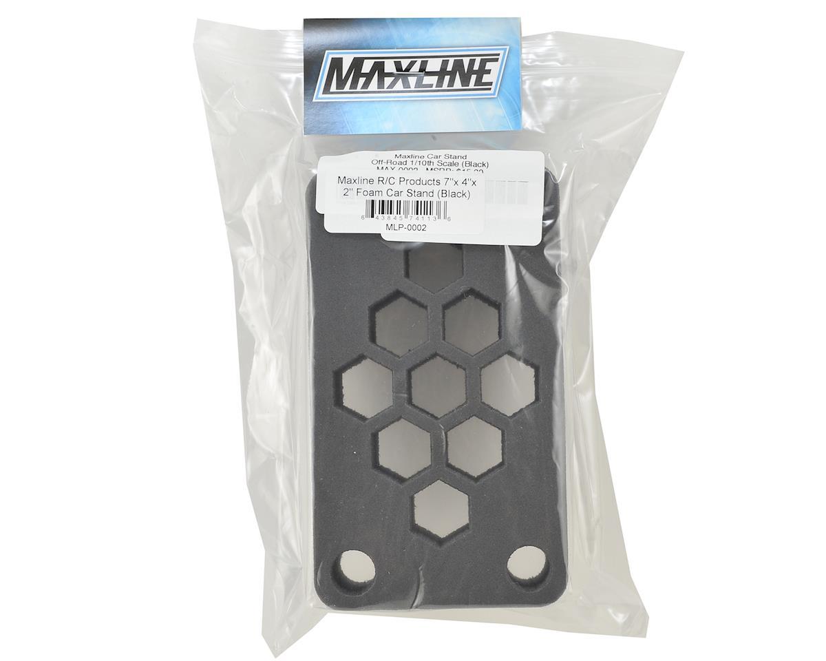 """Maxline R/C Products 7x4x2"""" Foam Car Stand (Black) (1/10 Off Road)"""