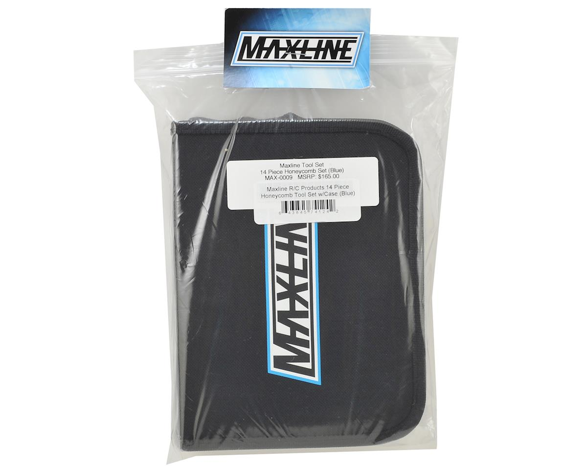 Image 3 for Maxline R/C Products 14 Piece Honeycomb Tool Set w/Case (Black)