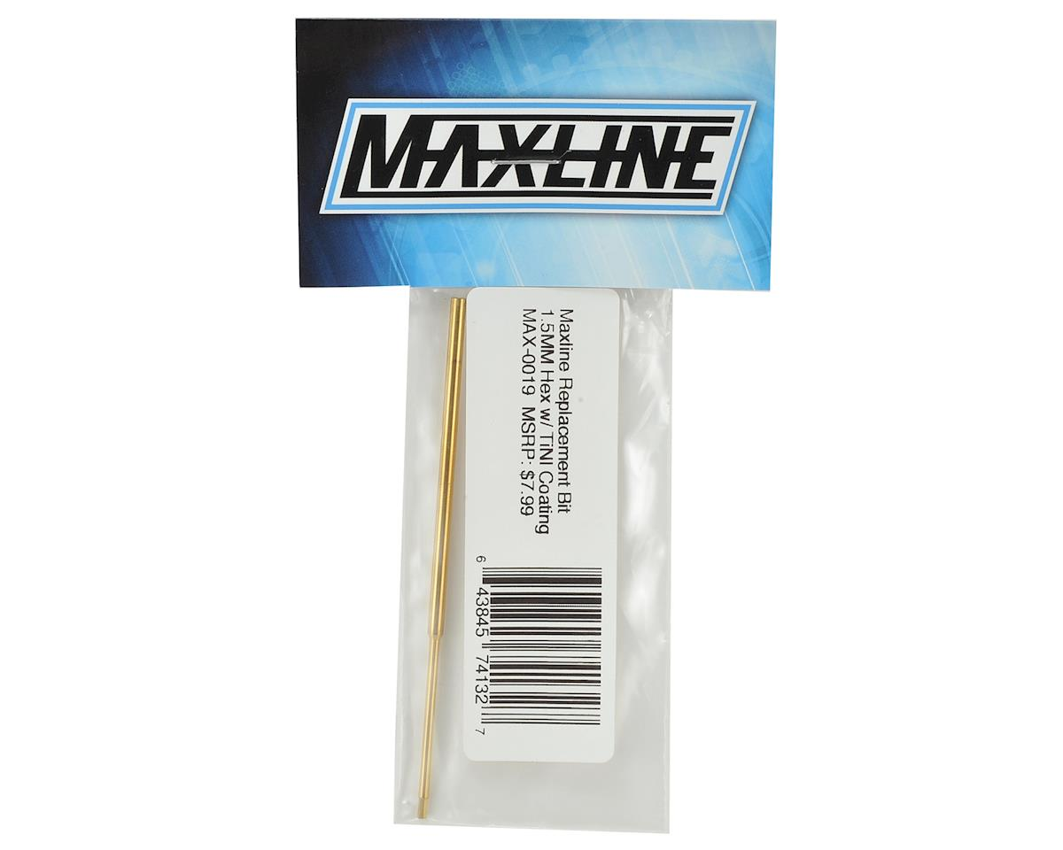 Maxline R/C Products 1.5mm Ti-Nitride Hex Replacement Tip